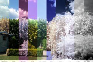 infrarood filters voorbeelden